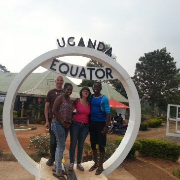 Leaving Kampala with Final Destination the Village of Mbaba