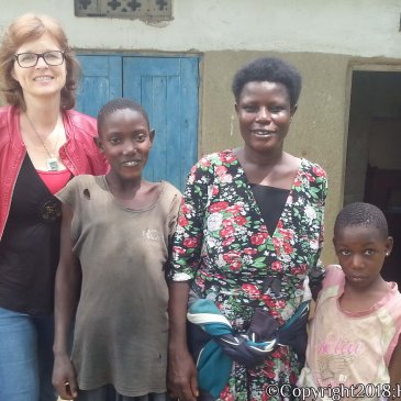 Visiting the Families of the Children.
