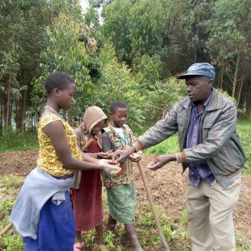 De lokale gemeenschap maakt kennis met de Moringaboom.