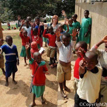 Wederom op bezoek bij Bwama Primary School.