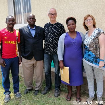 Uganda Trip 2019: Reading Glasses Donated at Bwama Health Center