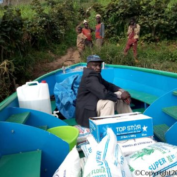 We Are Grateful Having Provided Some First Urgently Needed Aid at Lake Bunyonyi.