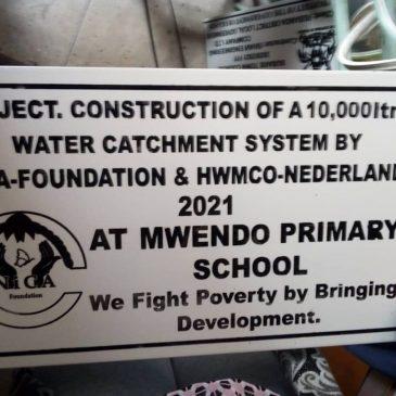 Opnieuw regenwateropvangsysteem gerealiseerd bij basisschool!