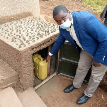 Rainwater Collection System with a Capacity of 20,000 Liters Constructed at Kasinde Primary School